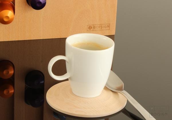 sous-tasse et support capsules