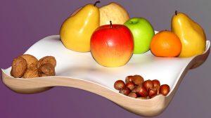 houle à fruits laquée