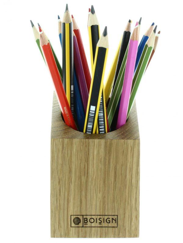 pot à crayons E.S de face
