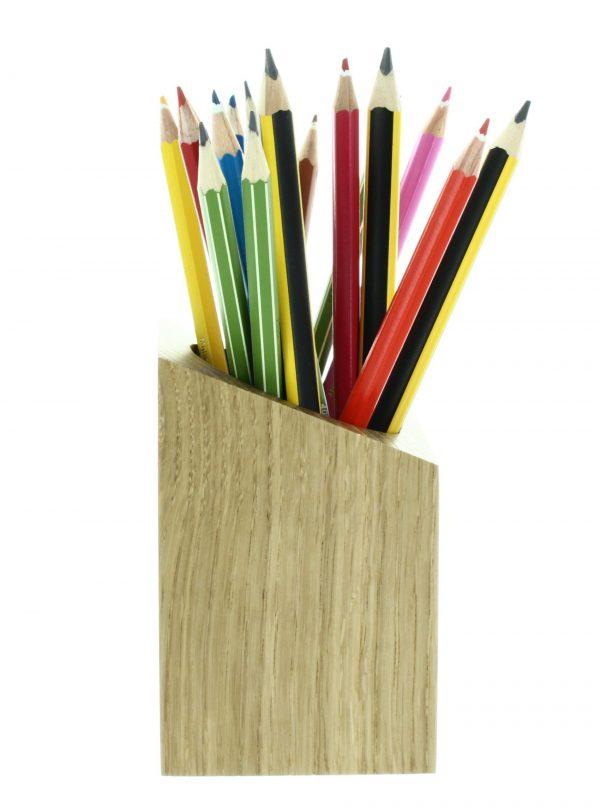pot à crayons E.S de coté