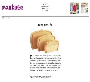 article avantages février 2018